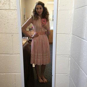 Pink 50s Vintage Dress
